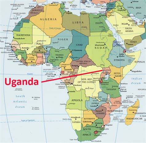 africa map uganda africa map showing uganda known as the pearl of africa