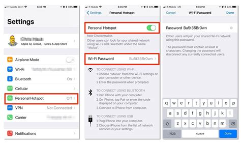 how to set up and secure a personal hotspot on your iphone or