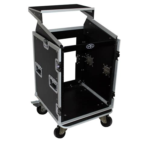 Dj Rack by Pro X Cases Prox T 14mrlt 14 Space 10 Slanted Top 14u