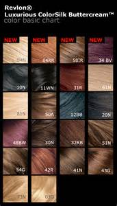 revlon colorsilk color chart revlon hair color chart 2016