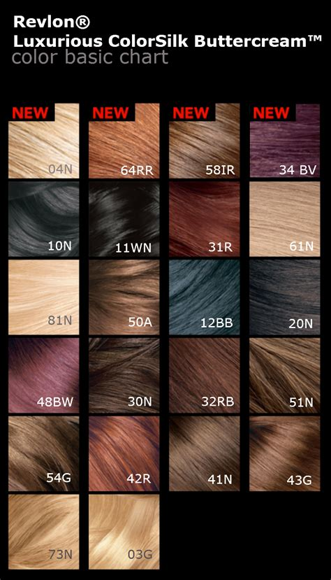 Revlon Hair Color revlon hair color chart 2016