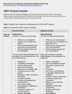 business plan swot analysis template 10 swot analysis templates free word doc ppt excel