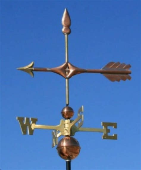 Weathervanes And Cupolas Usa by Copper Quot Fancy Arrow Quot Weathervane Made In Usa 144 Ebay