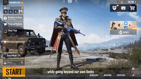 pubg mobile  version lobby esports indonesia situs