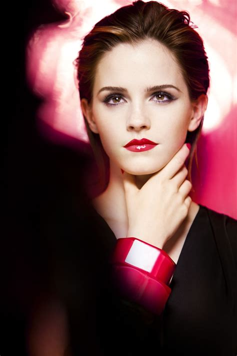 emma watson into the gloss gloss in love for lanc 244 me behind the scenes emma