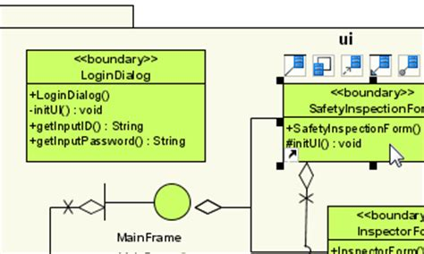 membuat class diagram dengan visual paradigm uml modeling unified modeling language tool