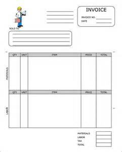 Construction Template Pdf by Construction Invoice Templates In Pdf Format Free