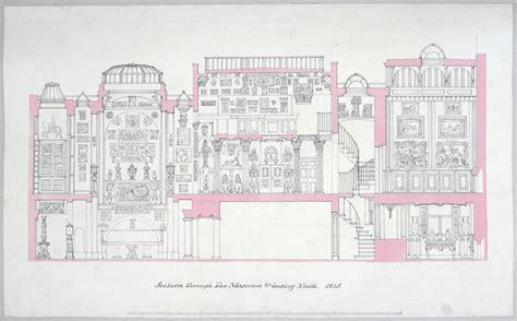 House Plan Drawings Understanding Architectural Drawings Sir John Soane S Museum
