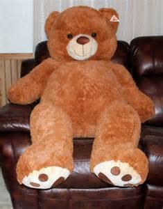 big teddy teddy plush stuffed animal brown 55 quot jumbo