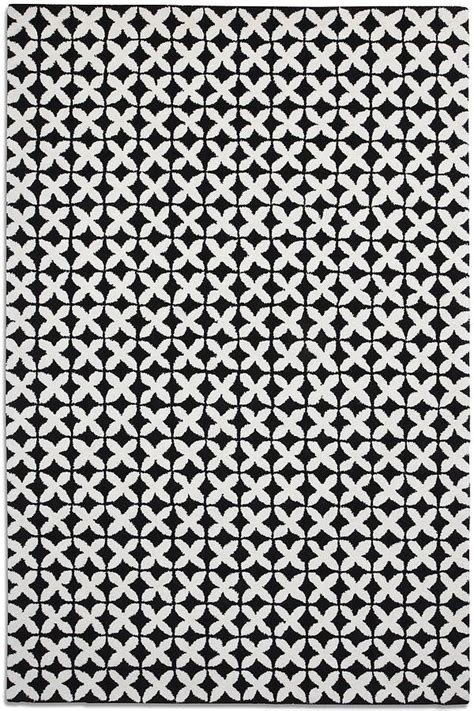 black and white geometric pattern rug geometric rug by i love retro notonthehighstreet com
