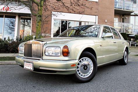 rolls royce 1999 silver seraph 4 door sedan