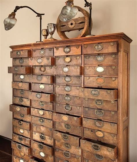 Library Card Catalog Drawers For Sale by Best Jewelry Vintage Library Card Catalogs Transformed