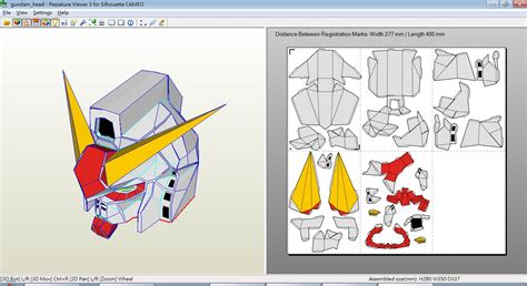 Papercraft Gundam Template - paper craft new 624 papercraft templates gundam