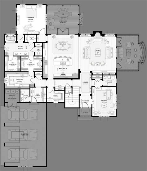 kennedy compound floor plan which 3000 sq ft 2 level plan would you rather live in