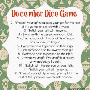 gift exchanges for gift exchange dice and gift exchange on