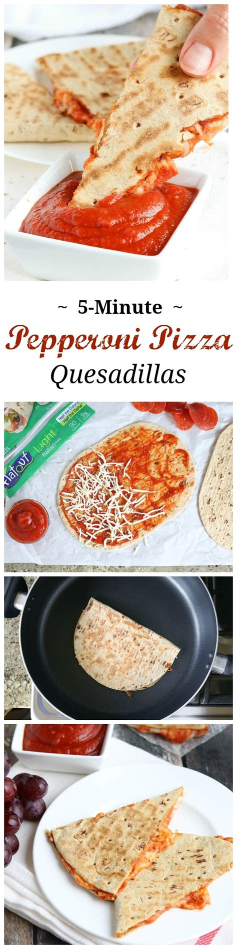protein quesadilla 5 minute pepperoni pizza quesadilla two healthy kitchens