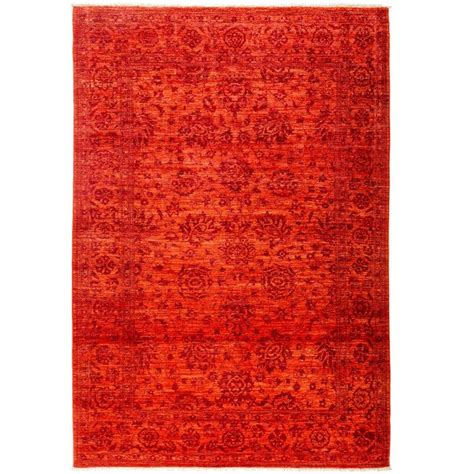 eclectic rugs orange eclectic area rug rugs for sale at 1stdibs