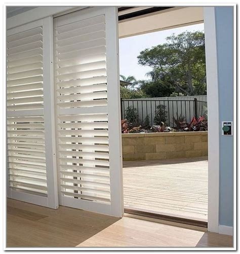Shutters For Sliding Glass Doors The World S Catalog Of Ideas