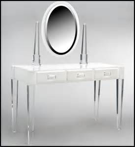 Acrylic Vanity Table Livingart
