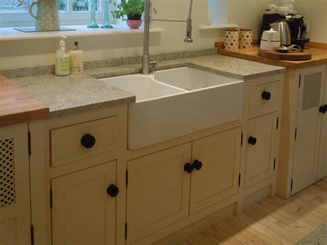 Kitchen Sink Unit Free Standing Kitchen Units Belfast Sink Unit Larder Units The Olive Branch Kitchens Ltd