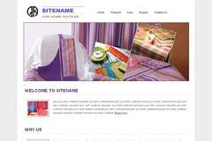 templates for textile website free textile website templates