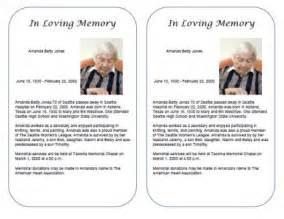 free obituary templates