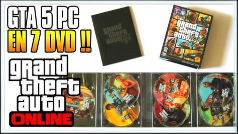 Dvd Ps4 Gta V gta 5 pc en 7 dvd gta 5