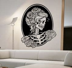 day of the dead bedroom ideas zombie hand decal sticker wall art car auto truck window