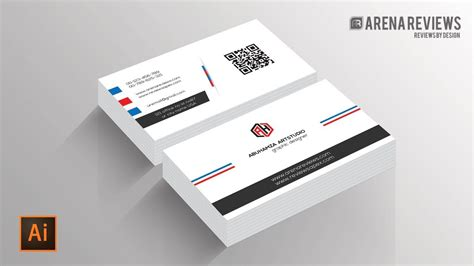Business Card Template Illustrator 6up by How To Design Business Card Template Illustrator Cc