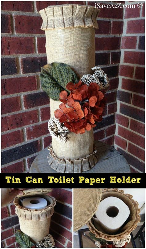 Toilet Paper Holder Crafts For - tin can toilet paper holder isavea2z can crafts