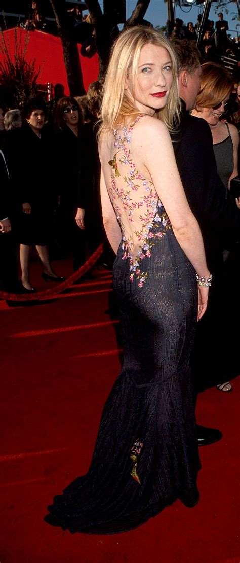 Oscars Carpet Cate Blanchett by Cate Blanchett At The 1999 Academy Awards 73