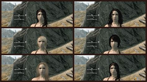 skyrim how to change npc hair in creation kit skyrim creation kit hair skyrim creation kit hair download