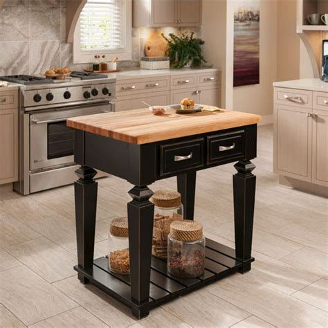 jeffrey kitchen island jeffrey bungalow kitchen island with maple edge grain butcher block top