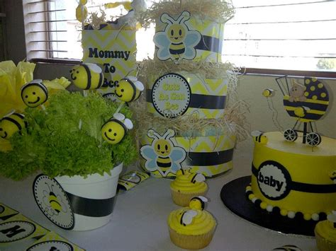 Bee Baby Shower Decorations by To Bee Baby Shower Decorations