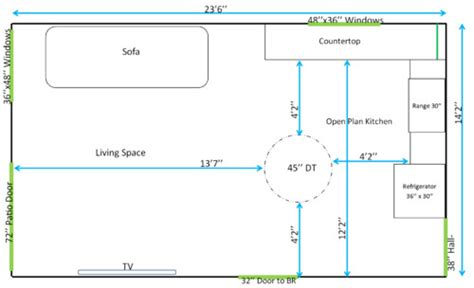 layout design help need help on open plan layout 24x14 dt size lighting