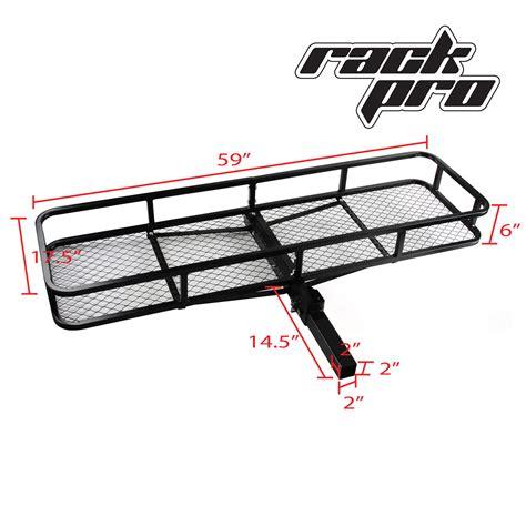 rear hitch basket universal rack cargo car luggage carrier