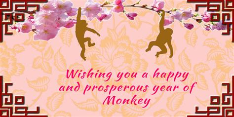 wishing you a prosperous new year wishing you a happy and prosperous year of monkey