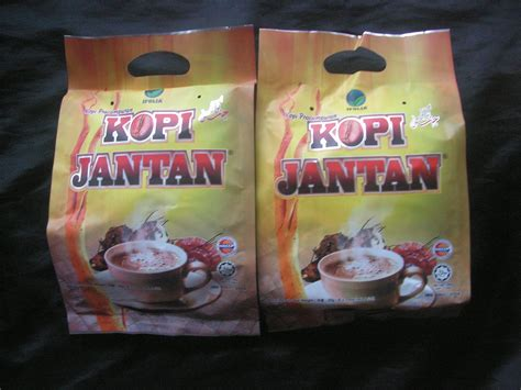 Kopi Jantan Original 2 packs of kopi jantan coffee with tongkat ali smilax