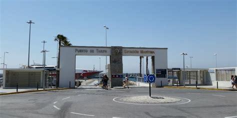 le trafic maritime a repris entre les ports de tanger