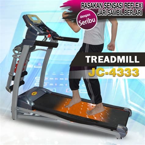 Karpet Fitnes jual treadmill karpet refleksi jc 4333 jaco