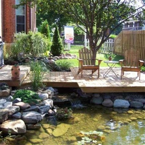 cool backyard designs 35 cool outdoor deck designs digsdigs