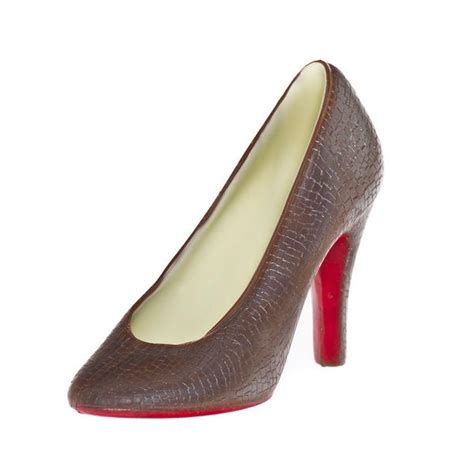 Chocolate And Shoes Be Still My by Chocolate Louboutin Shoe With Edible Sole Azra