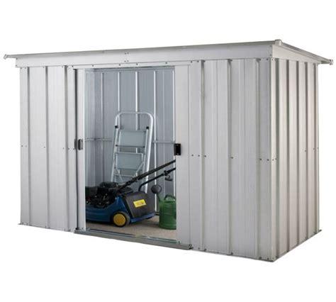 Argos Sheds Metal by Buy Yardmaster Metal Garden Storage Unit At Argos Co Uk