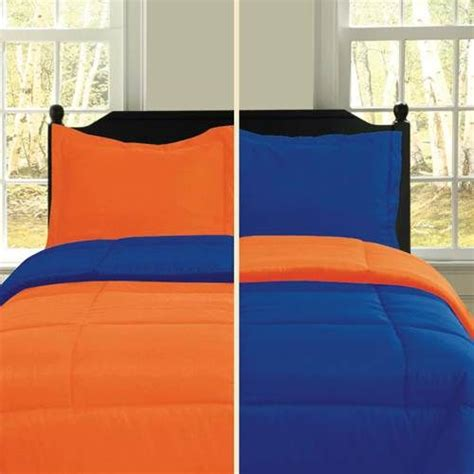 orange and blue bedding sets warmth and vibrance
