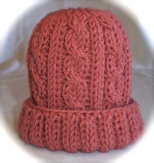 how to knit a small hat ravelry loom knit cabled baby hat pattern by faith schmidt