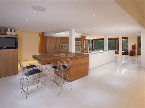 kitchen floor tile ideas the interior design inspiration flawless design contemporary luxury home in beverly hills