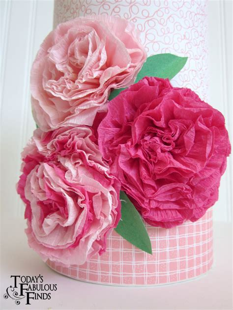 How To Make Flower In Crepe Paper - today s fabulous finds crepe paper flowers and