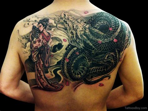 dragon tattoos on back tattoos designs pictures page 11