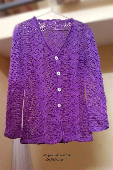 pattern crochet cardigan ladies crochet patterns for ladies cardigans dancox for