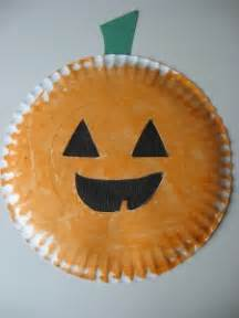 Paper plate jack o lantern amp easy halloween craft and activities no time for flash cards